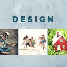 Дизайн уникального шаблона
